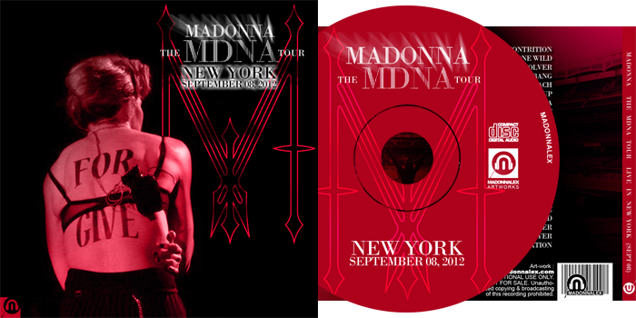 The MDNA Tour - Live from New York City Sept 08 Audio