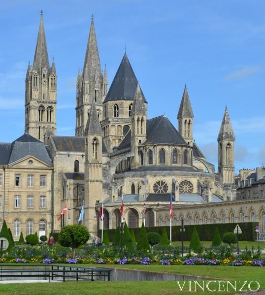Normandie caen abbaye aux Hommes
