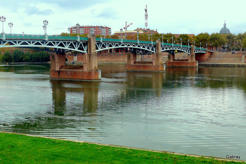 Toulouse : les bords de Garonne