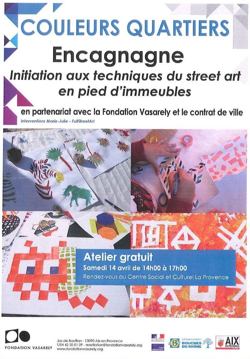 EXTRA MUROS sur Aix-Encagnane !