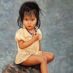 Dara la petite laotienne Sylvie Marin-Durand