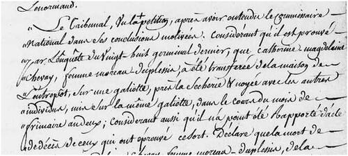 Catherine Chavaye, noyée en Loire....
