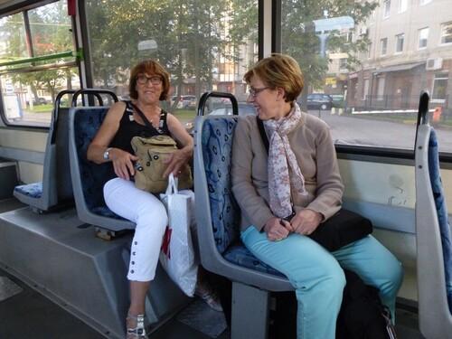 Croisière Russie- N°2- St Petersbourg- jour 2-après midi shopping et métro