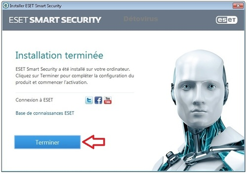 Eset Smart Security 7 -  Licence 3 mois gratuits