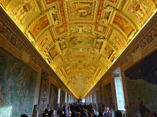 Les musées du Vatican et la place St Pierre