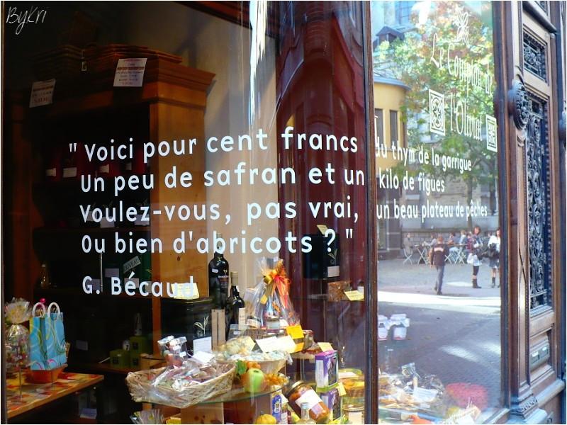 Faire son marché en Provence ou ailleurs ...