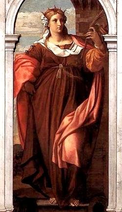 Sainte vierge Marie bien en chair