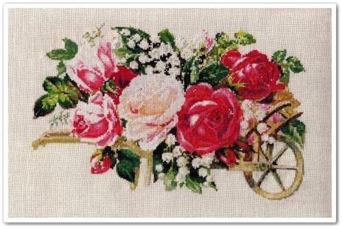 Victorian Rose Cart 16