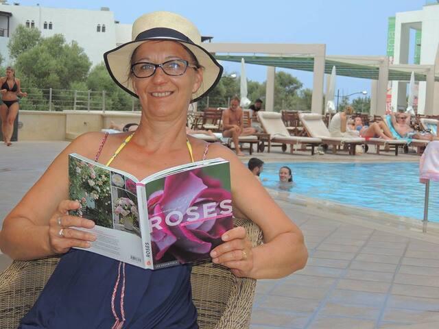 Mes lecteurs en vacances