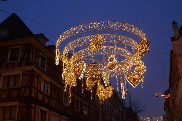 Strasbourg décembre 2018 : illuminations de Noël