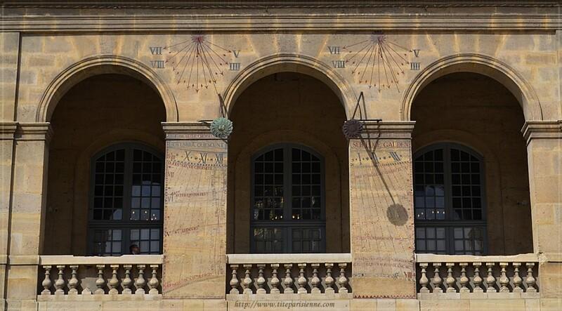 Les cadrans solaires de l'Hôtel des Invalides