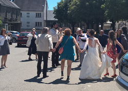 Couple de sonneurs - Mariage à Langonnet
