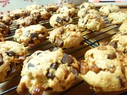 Cookies TOP caramel et trois chocolats