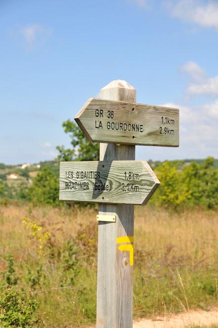 randonnée à Pradines