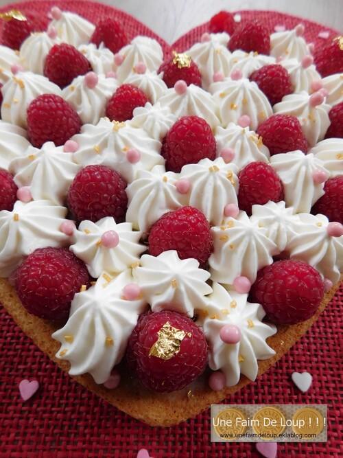 Cœur gourmand de la Saint-Valentin