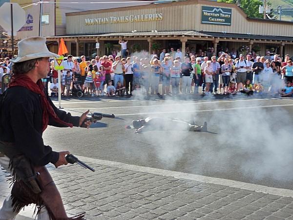 Jour 9 Jackson spectacle duel