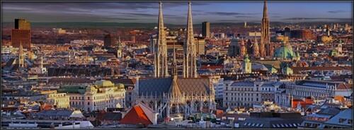 Vienne l'impériale  -  jeudi 22 octobre / lundi 26 octobre 2020
