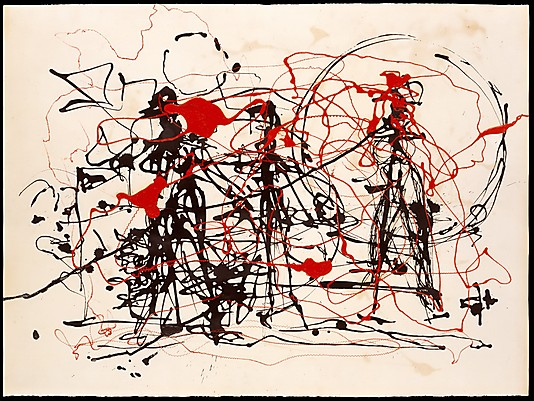 Jackson pollock la danse du pinceau for Top websites for artists