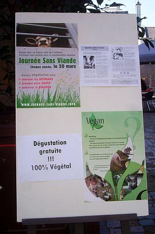 nea - Journée sans viande Mars 2011