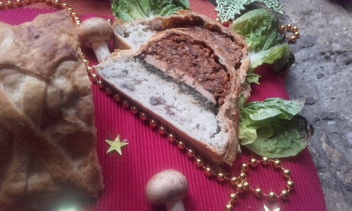 Calendrier de l'Avent #19 Roti de Noël façon Koulibiac {Vegan}