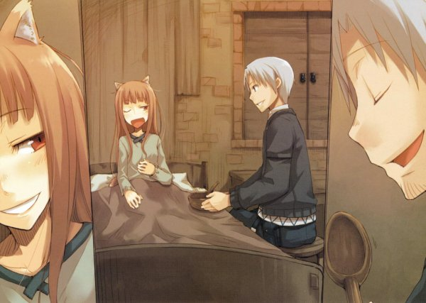 Holo et Lawrance (Spice and Wolf)