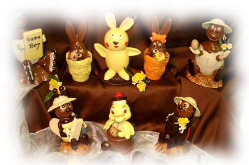 tube chocolat de paques