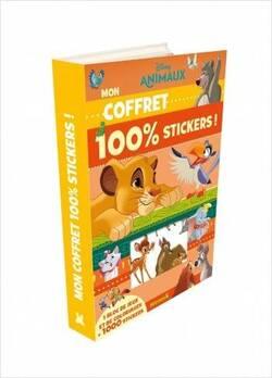 Disney animaux - Avec 1 bloc de jeux et de coloriages et 1000 stickers Disney