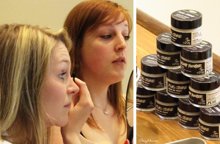 Je craque aussi pour la make up Lush !