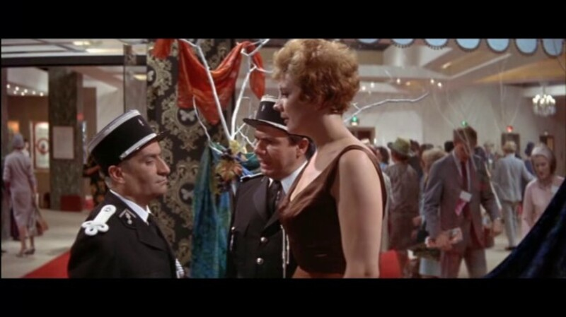LOUIS DE FUNES - MICHEL GALABRU - LE GENDARME A NEW YORK - 1965