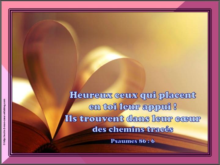 Ronde Versets du coeur 143