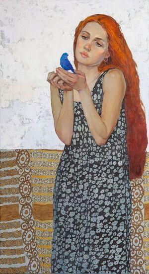 Victoria Kalaichi, artiste ukrainienne.