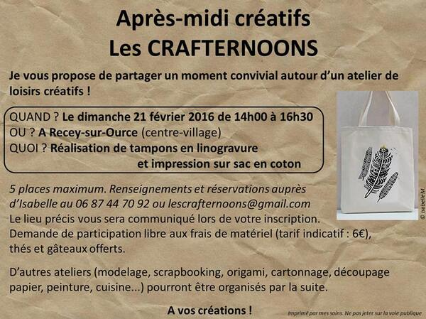 Les Crafternoons