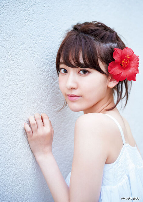 Magazine : ( [Young Magazine] - 2017 / N°28 - Sakura Miyawaki & Moe Kamikokuryo Staring )