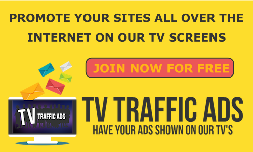 Have Your Ads Shown On Our TV Screens Above & All Over The Internet!