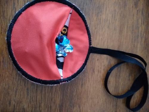 couture et numérisation , broderies porte bonbon hiboux