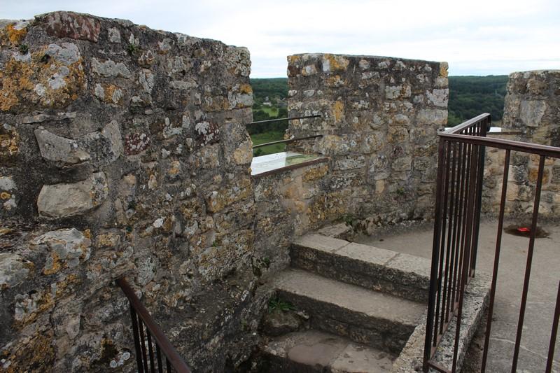 Paysage vu d'en haut de la Tour