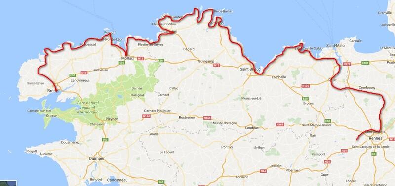 2017 VÉLO côtes nord Bretagne