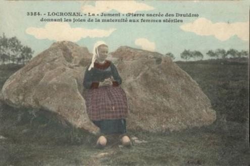 Locronan, la jument de pierre