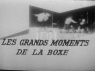 15 Décembre 1970 / LES GRANDS MOMENTS DE LA BOXE - INTROUVABLE