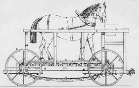 Avant les chevaux-vapeur, les chevaux sans vapeur ...