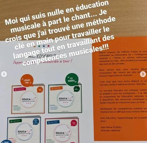 [outil pour l'enseignant] Educafuz Apprendre le langage oral par la musique