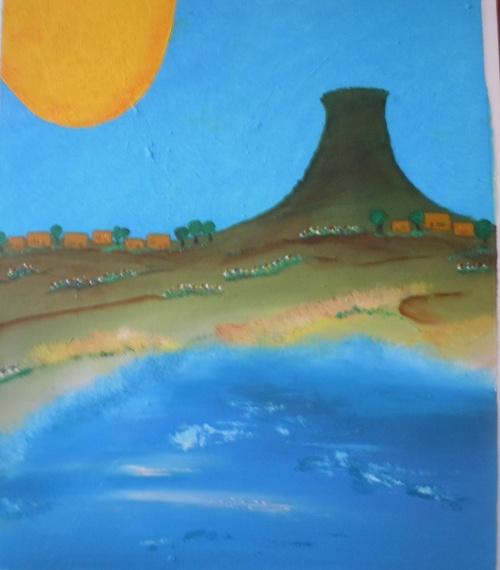 Après la mer...la peinture...