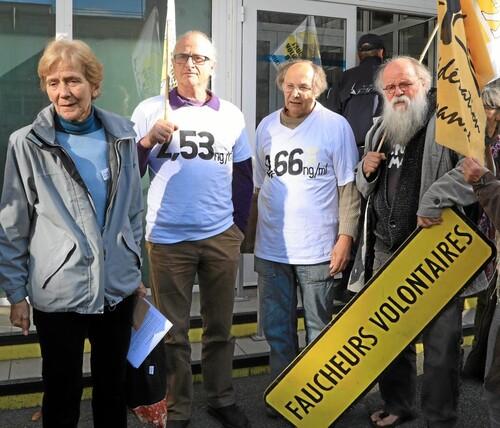 « Faucheurs volontaires, nous voulons un procès » (OF-7/11/2017)