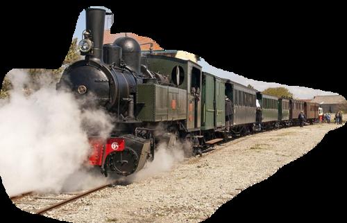 ♥ Le train ♥