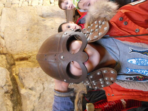 Sortie au château de Largentière