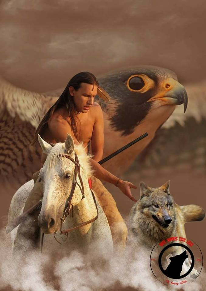"Photo de Native WOLF""."