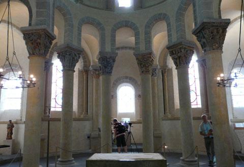 Saint Nectaire : L'église