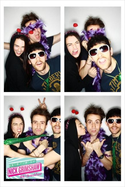 Katie et Colin à BBC Radio1 Breakfast