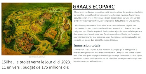 CHARTRES - Projet GRAAL Ecopark