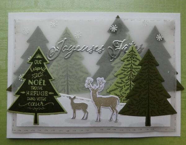 Mes cartes pour les fêtes de fin d'année